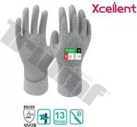 Rukavica pracovná xcellent, 12-330, UHMWPE, polyuretan X-wet, veľkosť 9