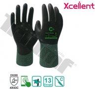 Rukavica pracovná xcellent, 12-360, polyuretan X-wet 8 / M