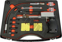 Zapisovateľný kompresiometer diesel 10-50Bar, plus univerz. adaptére M8-M9-M10-M12