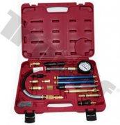 Tester tlaku kombinovaný, vhodný pre benzínové a naftové motory, 0 - 40bar