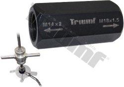 Adaptér k reverznému kladivu, vnútorné závity M14x2mm: M18x1,5mm