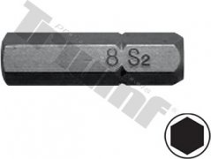 bit inbus  H7-30L-8mm driek, materiál S2, vhodné do sád 150,171,176 dielnych
