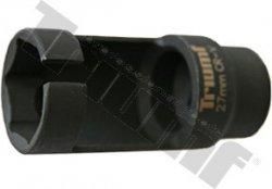 Hlavica na vstrekovače 27 x 80 mm s bočným otvorom