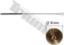 Špeciálna kefka na čistenie miesta uloženia ihly vstrekovača aj zhaviča M8, Ø8mm, l=300
