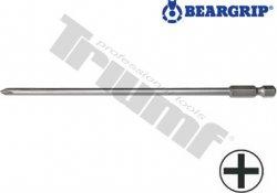 Bit krížový PH (150 mm), séria 4002, extra dlhý (B-T) - PH 2 x 150 mm