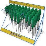 Sada skrutkovačov v stojane 1K 60 - dielna sada, PH+PL, Beargrip