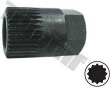 Kľúč na alternátory XZN M19, 17H, 30L, 33 zubov