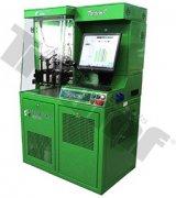 Testovacia stolica TRIUMF pre testovanie CR vstrekovačov, vrátane kódovania, softvér Dieselt