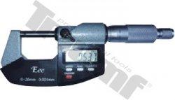 EEE digitálny mikrometer, kovový 0.001mm