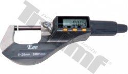 EEE digitálny mikrometer plastový 0,001 mm