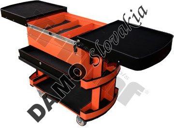 Rozkladací vozík, 3 - zásuvkový