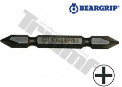 """Bit 1/4"""" krížový obojstranný PZ x PZ (65 mm) - PZ2 x PZ2"""