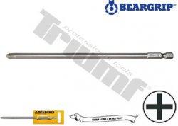 Bit krížový (200 mm) séria 4002, plastový držiak  PH 0 x 200 mm