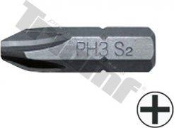 """Bit krížový, 8 mm (5/16"""") driek, dĺžka 30 mm - PH4"""