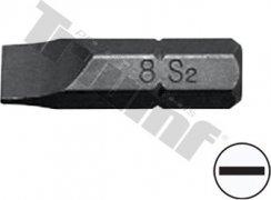 """Bit plochý, 8 mm (5/16"""") driek, dĺžka 30 mm - 8 mm"""