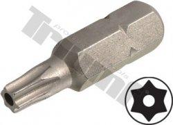 """Bit Torx vŕtaný, 8 mm (5/16"""") driek, dĺžka 30 mm - T27"""