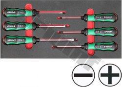 Modul 2K úderových skrutkovačov Beargrip PH+PL, séria 797, 6 dielny
