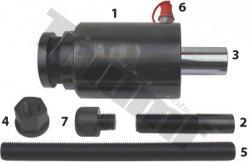 Hydraulický valec, 45 t úderový, výsuv 70 mm, s príslušenstvom