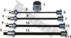 Sada adaptérov pre maticové nity 6,8,10 a 12 mm