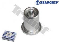 Maticový nit hliníkový - M4 x 12,5 mm