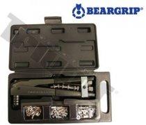 Sada 834 BEARGRIP s kliešťami 814 a maticovými nitmi 25xM4 - 20xM5 - 20xM6 (B-T)