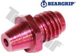 Kónus do čeľustí  3 mm červený č.40B pre pk 1050