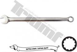 Extra dlhý kľúč očkovidlicový 12 hran - 17 x 310 mm