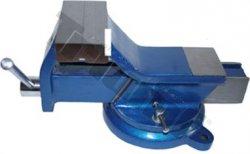 Zverák paralelný otočný, štandard - 125 mm