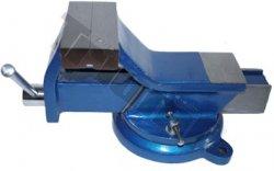 Zverák paralelný otočný, štandard - 100 mm