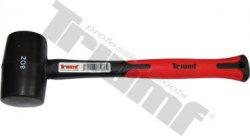 Kladivo gumené fiberglas rukoväť - 500 g