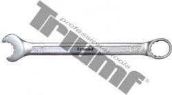 Kľúč očkoplochý račňový 14mm, 14 zubový, funkcia račňa otvorené očko + elipsa