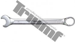 Kľúč očkoplochý račňový 15mm, 14 zubový, funkcia račňa otvorené očko + elipsa