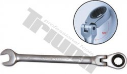 Kľúč račňový očkovidlicový, výkyvný - 10 mm