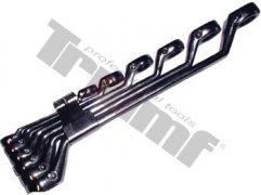 Sada vyhnutých račňových kľúčov 10 - 22 mm, 6 - dielna