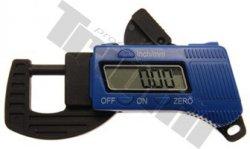 Digitálny mikrometer 0 - 13mm, presnosť 0.01mm, použitie napr. pre zistenie hrúbky brzdového