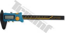 Digitálne posuvné merítko plastové 150x40mm, 0,1, pre tesárov