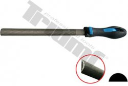 Pilník polguľatý na kov, sek 2 - 250 mm