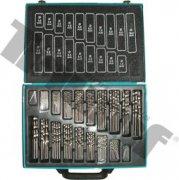 Maxi - sada vybrusovaných vrtákov do kovu HSS, 170 - dielna