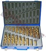 Sada vrtákov HSS do kovu, titánované, 170 - dielna