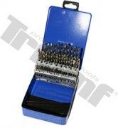 Maxi sada vrtákov HSS do kovu - 1,0 - 5,9 mm, 50 - dielna