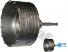Korunka vŕtacia s TK plátkom a SDS uchytením - 150 mm