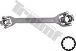 Univerzálny kľúč s rotačnými hlavicami 10 - 21 mm