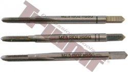 Závitníky sadové HSS DIN 352 štandardné stúpanie - M4x0,7