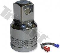 """1/2"""" nadstavec na olejové výpuste, s magnetom a drážkovaním - 14 mm"""