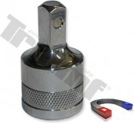 """1/2"""" nadstavec na olejové výpuste, s magnetom a drážkovaním - 8 mm"""