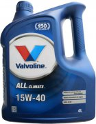 VALVOLINE ALL-CLIMATE 15W-40 - 4l
