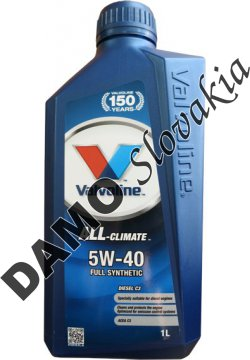 VALVOLINE ALL-CLIMATE DIESEL C3 5W-40 - 1l
