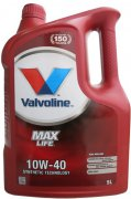 VALVOLINE MAXLIFE 10W-40 - 5l