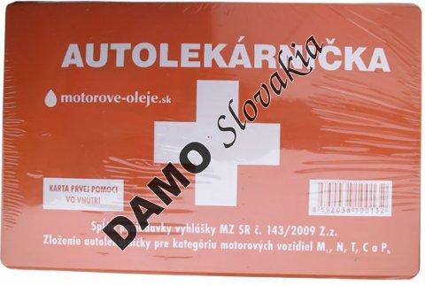 AUTOLEKÁRNIČKA 143/2009 - 1ks