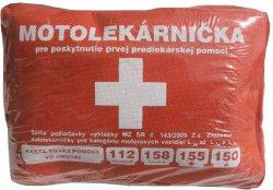 MOTOLEKÁRNIČKA 143/2009, textilná - 1ks